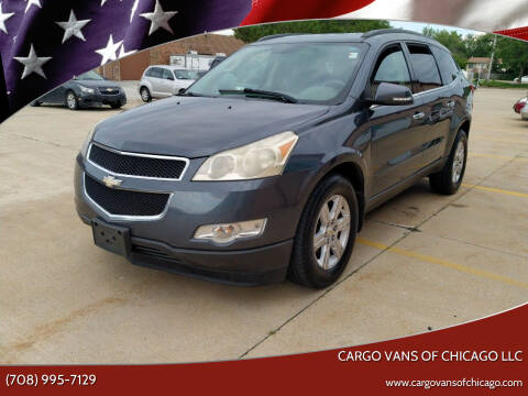 2011 Chevrolet Traverse for sale at Cargo Vans of Chicago LLC in Mokena IL