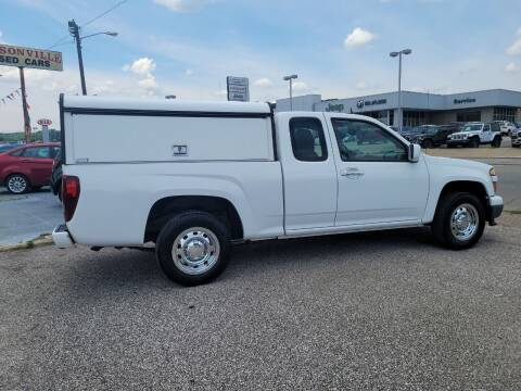 2012 Chevrolet Colorado for sale at Sissonville Used Car Inc. in South Charleston WV