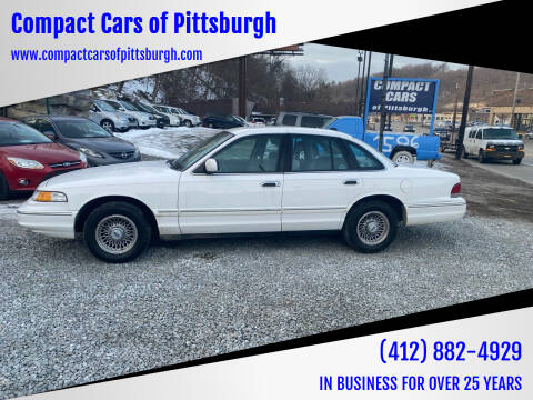 1997 Ford Crown Victoria for sale at Compact Cars of Pittsburgh in Pittsburgh PA