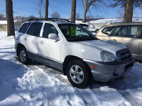 2005 Hyundai Santa Fe for sale at Antique Motors in Plymouth IN
