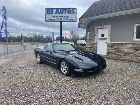 1999 Chevrolet Corvette for sale at 83 Autos in York PA