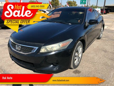 2008 Honda Accord for sale at Ital Auto in Oklahoma City OK