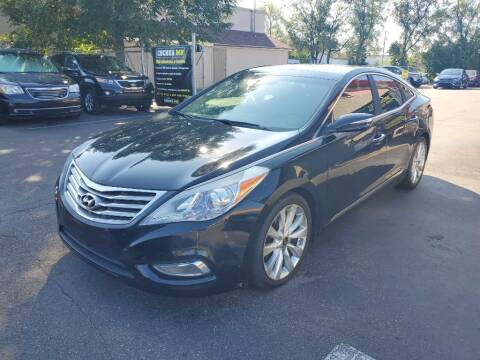 2013 Hyundai Azera for sale at MIDWEST CAR SEARCH in Fridley MN