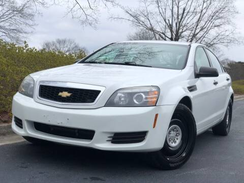 2014 Chevrolet Caprice for sale at William D Auto Sales in Norcross GA
