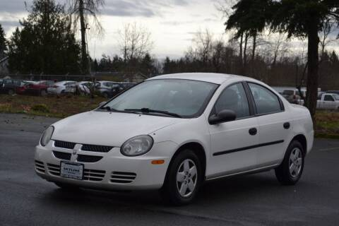 2003 Dodge Neon for sale at Skyline Motors Auto Sales in Tacoma WA
