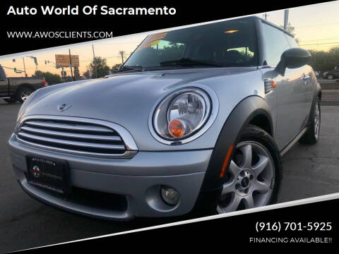 2007 MINI Cooper for sale at Auto World of Sacramento Stockton Blvd in Sacramento CA