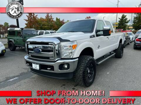 2015 Ford F-350 Super Duty for sale at Auto 206, Inc. in Kent WA