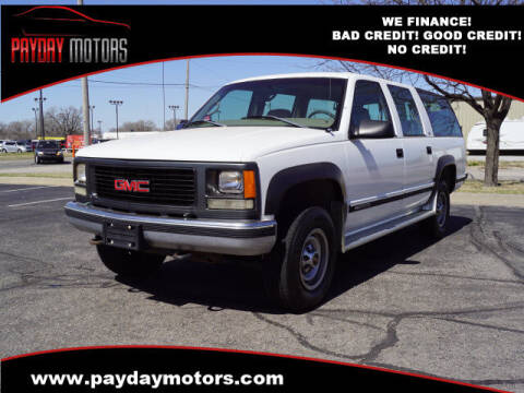 1999 GMC Suburban for sale at Payday Motors in Wichita And Topeka KS