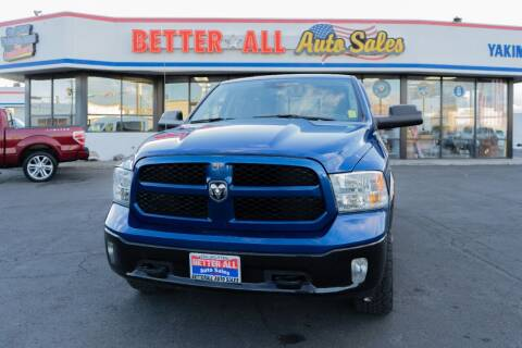 2017 RAM Ram Pickup 1500 for sale at Better All Auto Sales in Yakima WA
