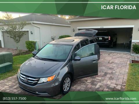 2014 Honda Odyssey for sale at ICar Florida in Lutz FL