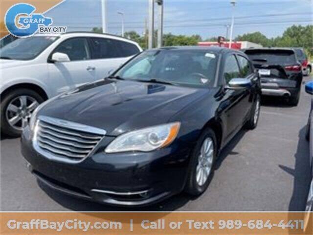 2014 Chrysler 200 for sale at GRAFF CHEVROLET BAY CITY in Bay City MI
