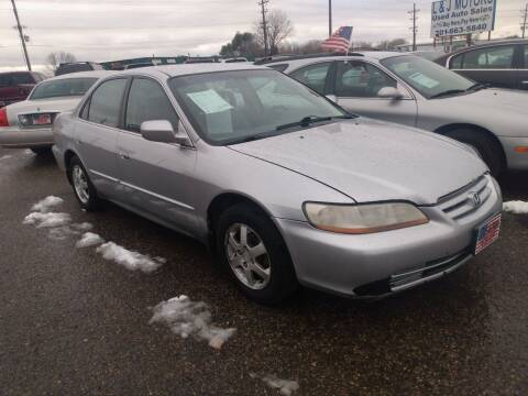 2002 Honda Accord for sale at L & J Motors in Mandan ND