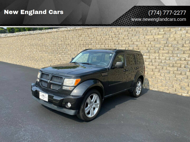 2011 Dodge Nitro for sale at New England Cars in Attleboro MA