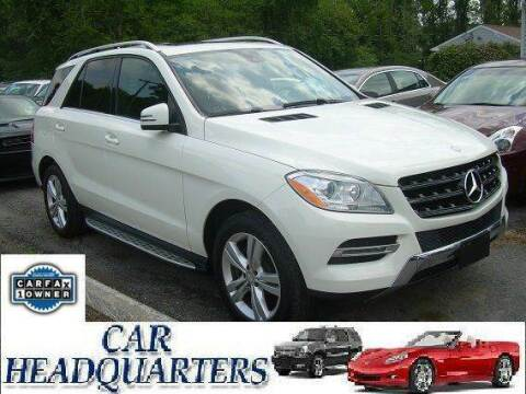 2013 Mercedes-Benz M-Class for sale at CAR  HEADQUARTERS in New Windsor NY