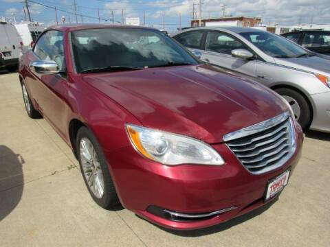 2012 Chrysler 200 Convertible for sale at Tony's Auto World in Cleveland OH