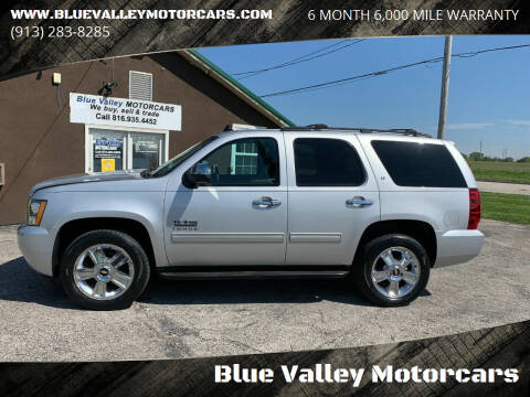2014 Chevrolet Tahoe for sale at Blue Valley Motorcars in Stilwell KS