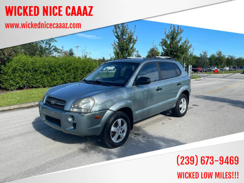2007 Hyundai Tucson for sale at WICKED NICE CAAAZ in Cape Coral FL