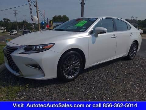 2018 Lexus ES 350 for sale at Autotec Auto Sales in Vineland NJ