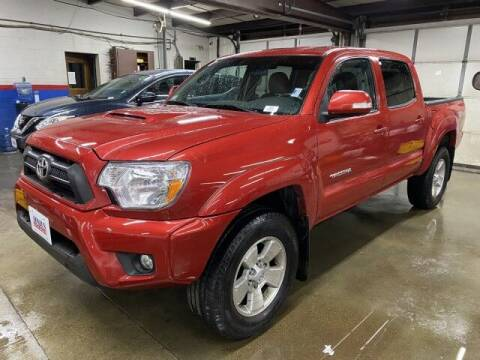 2015 Toyota Tacoma for sale at Sonias Auto Sales in Worcester MA