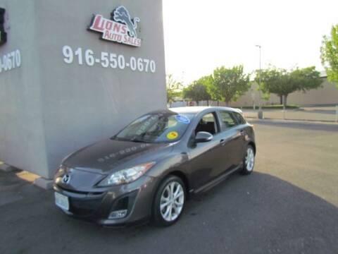 2010 Mazda MAZDA3 for sale at LIONS AUTO SALES in Sacramento CA