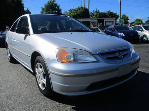 2002 Honda Civic for sale at Unlimited Auto Sales Inc. in Mount Sinai NY