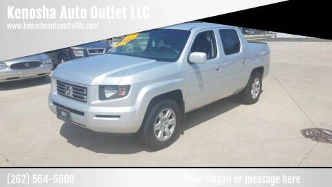 2006 Honda Ridgeline for sale at Kenosha Auto Outlet LLC in Kenosha WI