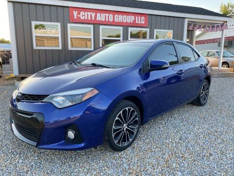 2014 Toyota Corolla for sale at Y City Auto Group in Zanesville OH