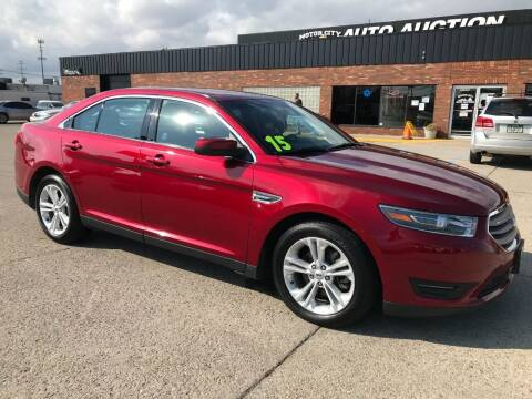 2015 Ford Taurus for sale at Motor City Auto Auction in Fraser MI