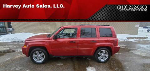 2007 Jeep Patriot for sale at Harvey Auto Sales, LLC. in Flint MI