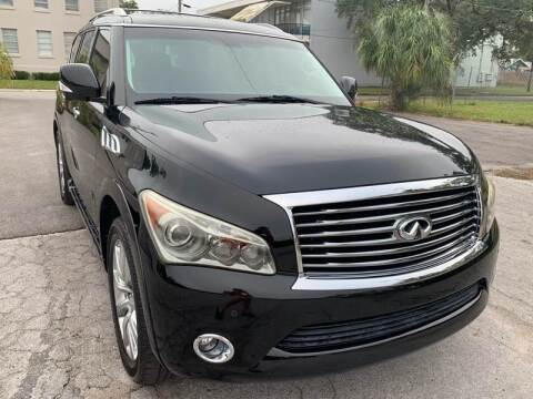 2012 Infiniti QX56 for sale at Consumer Auto Credit in Tampa FL
