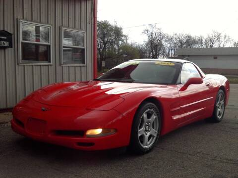 2001 Chevrolet Corvette for sale at Midwest Auto & Truck 2 LLC in Mansfield OH