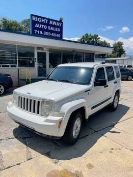 2010 Jeep Liberty for sale at Right Away Auto Sales in Colorado Springs CO