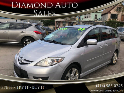2009 Mazda MAZDA5 for sale at Diamond Auto Sales in Milwaukee WI