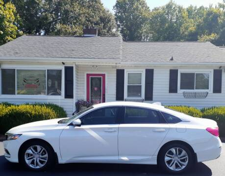 2020 Honda Accord for sale at SIGNATURES AUTOMOTIVE GROUP LLC in Spartanburg SC