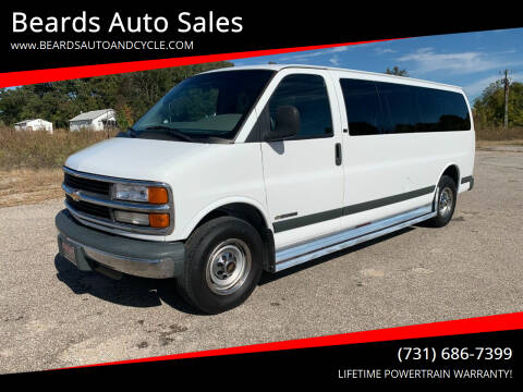 2000 Chevrolet Express Passenger for sale at Beards Auto Sales in Milan TN