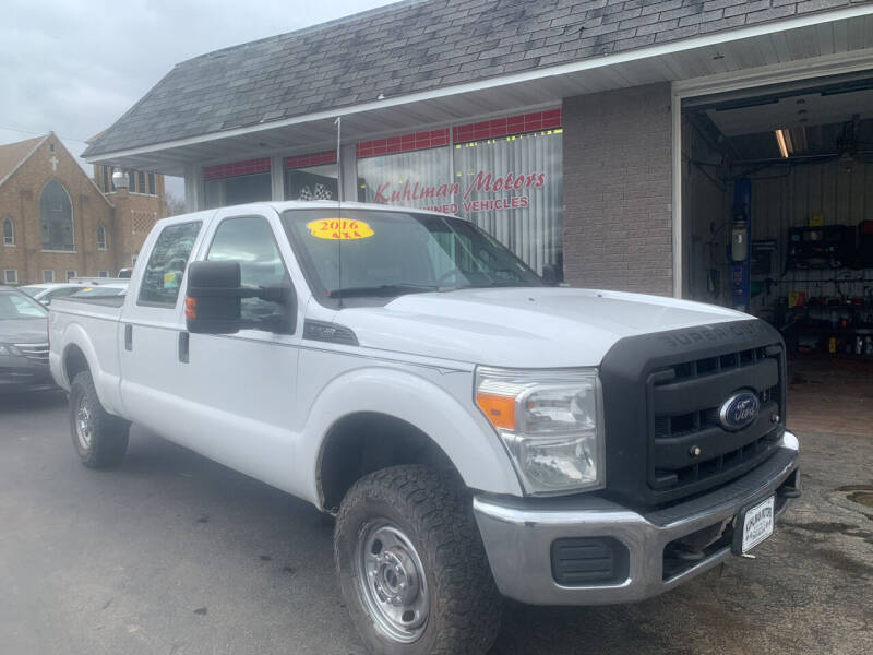 2016 Ford F-250 Super Duty for sale at KUHLMAN MOTORS in Maquoketa IA