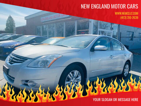 2010 Nissan Altima for sale at New England Motor Cars in Springfield MA