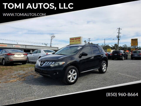 2010 Nissan Murano for sale at TOMI AUTOS, LLC in Panama City FL