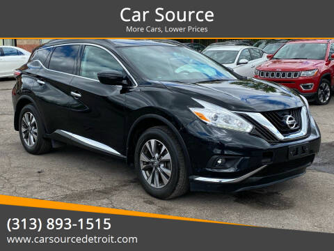 2017 Nissan Murano for sale at Car Source in Detroit MI