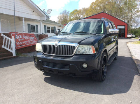 2003 Lincoln Navigator for sale at Ace Auto Sales - $1400 DOWN PAYMENTS in Fyffe AL