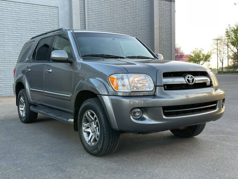 2005 Toyota Sequoia for sale at COUNTY AUTO SALES in Rocklin CA