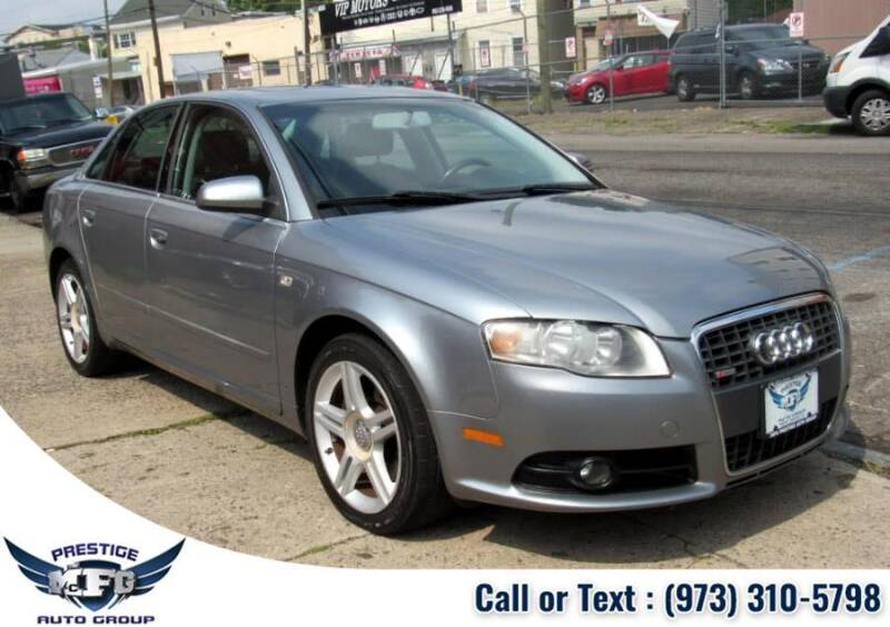 2008 Audi A4 for sale at MFG Prestige Auto Group in Paterson NJ