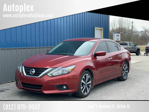 2016 Nissan Altima for sale at Autoplex in Sullivan IN