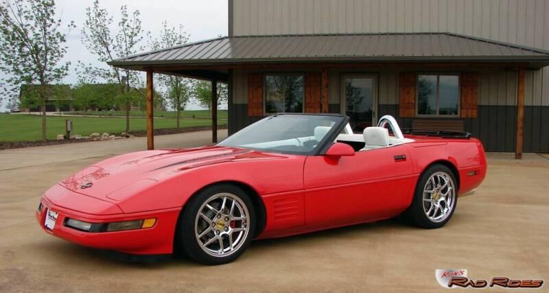 1993 Chevrolet Corvette for sale at Ron's Rad Rides LLC in Big Lake MN