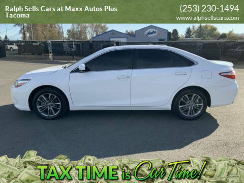 2017 Toyota Camry for sale at Ralph Sells Cars at Maxx Autos Plus Tacoma in Tacoma WA
