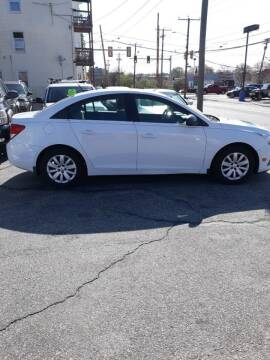 2011 Chevrolet Cruze for sale at MERROW WHOLESALE AUTO in Manchester NH