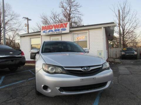 2011 Subaru Impreza for sale at Midway Cars LLC in Indianapolis IN