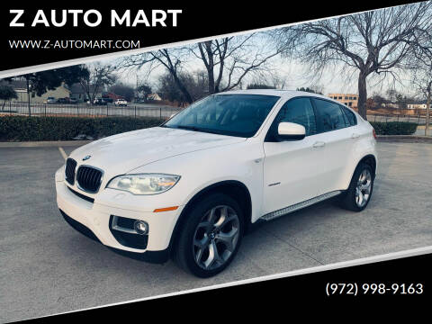 2013 BMW X6 for sale at Z AUTO MART in Lewisville TX