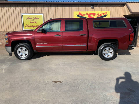 2014 Chevrolet Silverado 1500 for sale at BIG 'S' AUTO & TRACTOR SALES in Blanchard OK