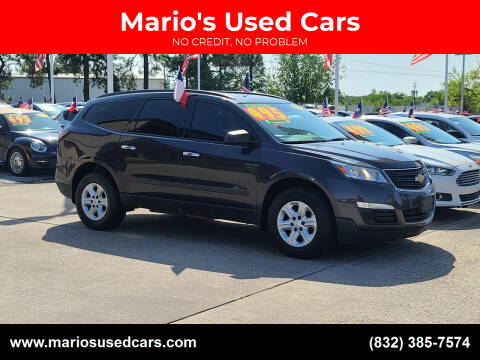 2015 Chevrolet Traverse for sale at Mario's Used Cars in Houston TX